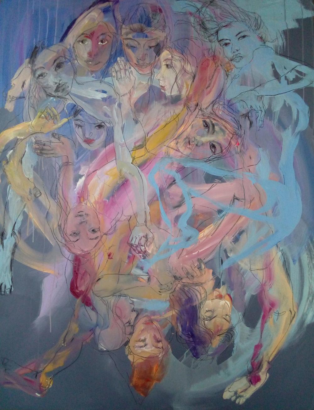 Aline Eichner : la peinture sa raison de vivre