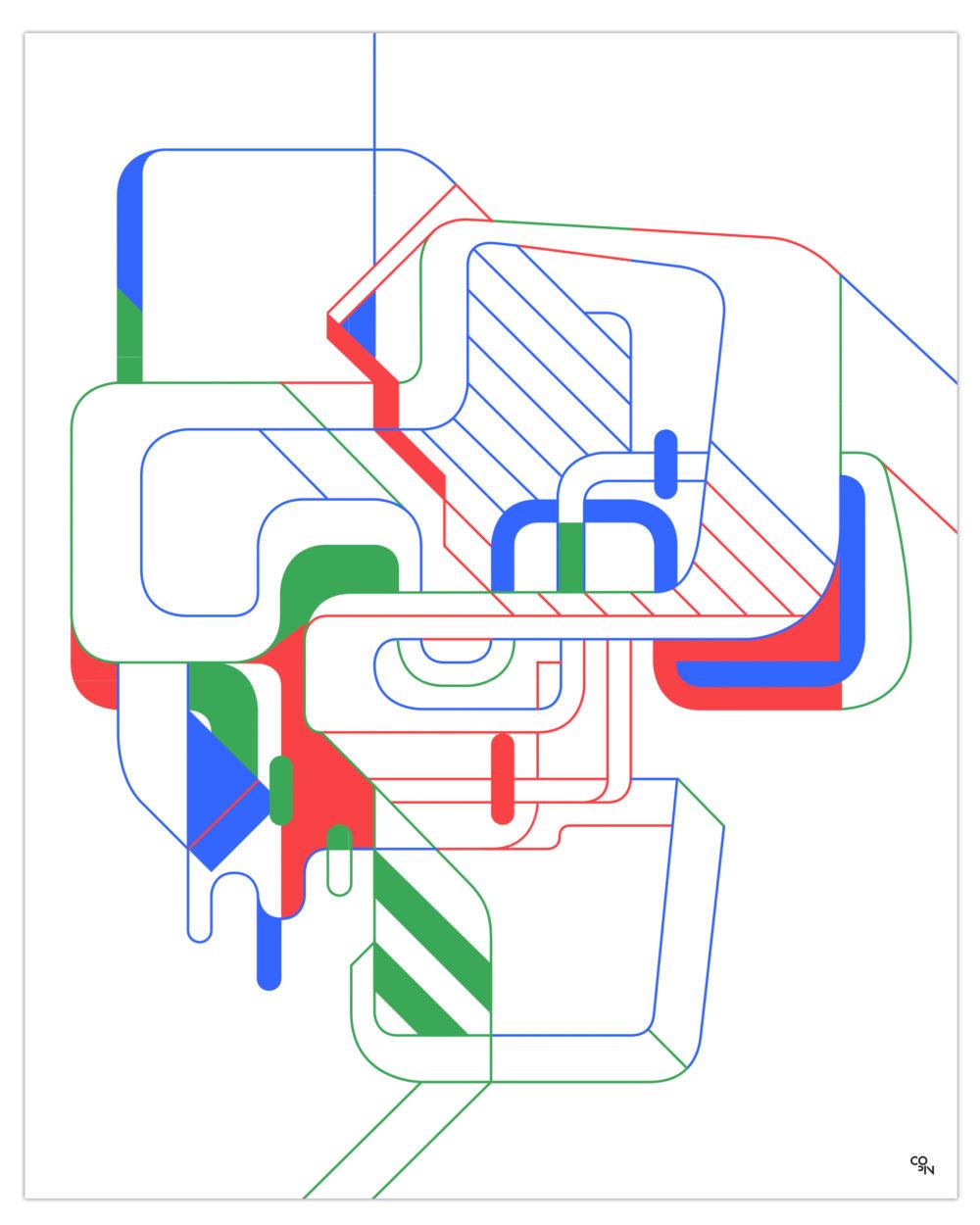 Christophe Copin : construire, déconstruire, s'approprier le trait