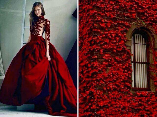 Liliya-Hudyakova robe rouge