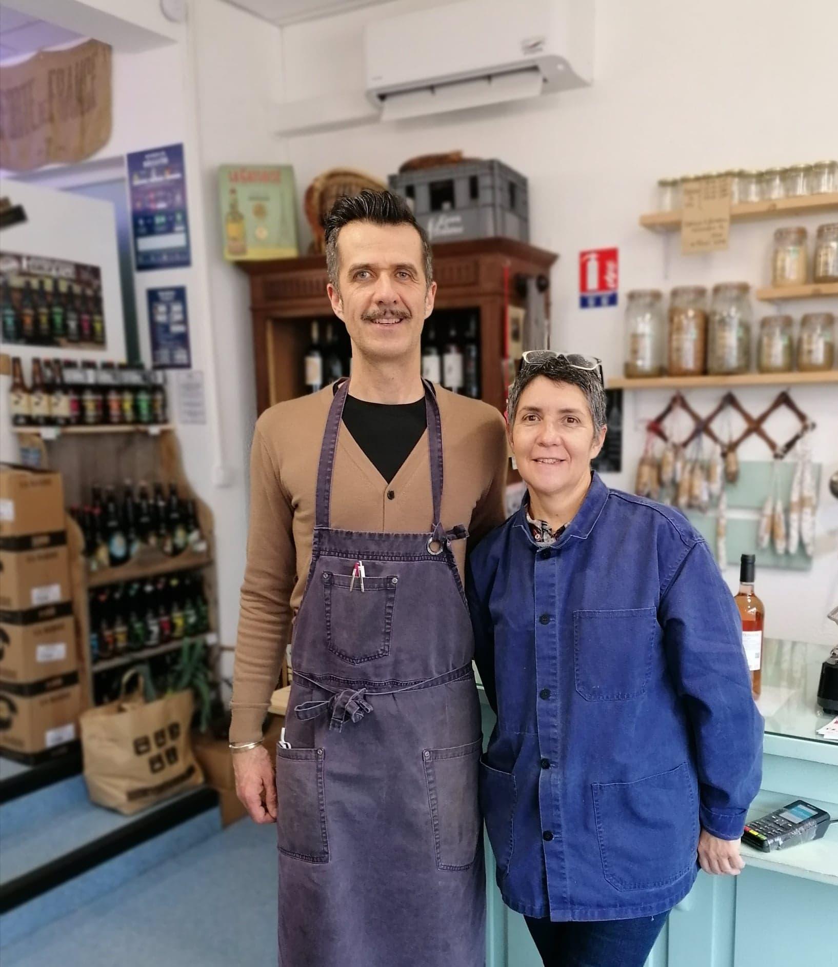 Elisabeth et Laurent : L'épicerie d'Oradour